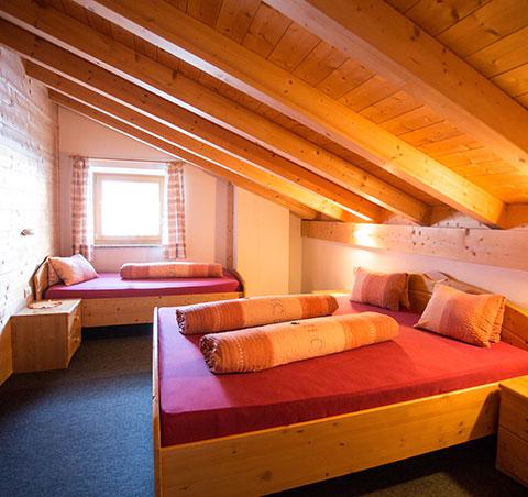 Doppelbettzimmer Pfelders/Passeiertal