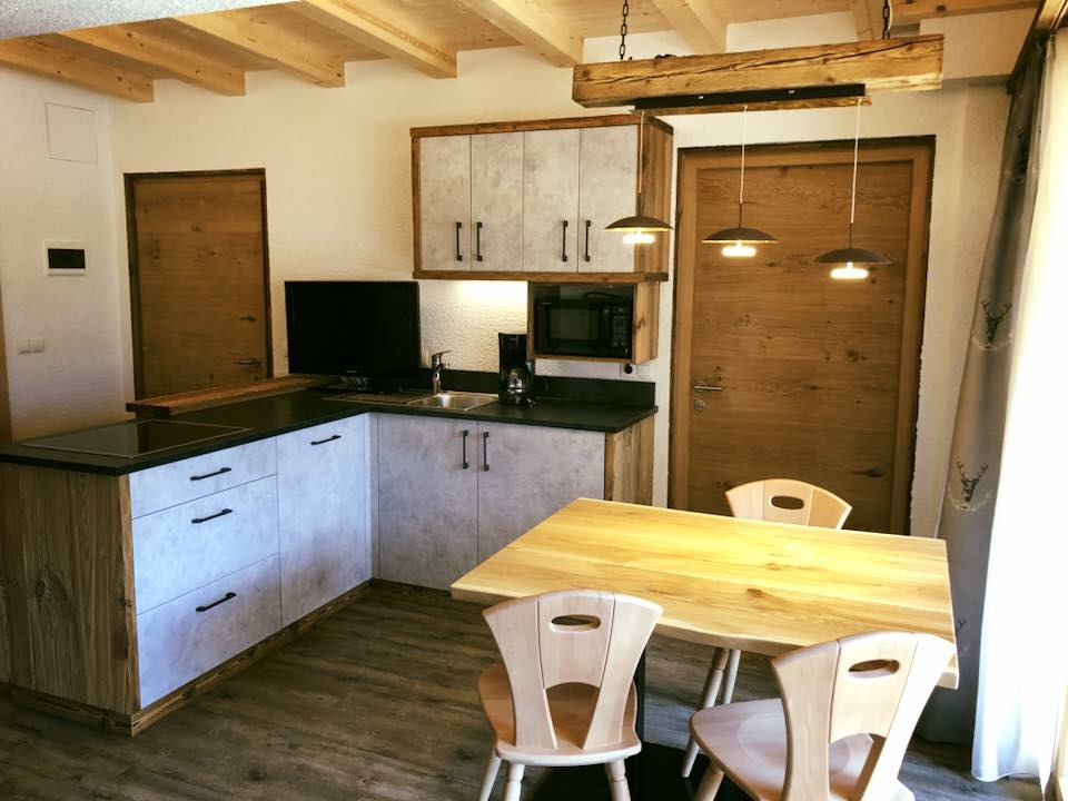 Küche Pfelders/Passeiertal
